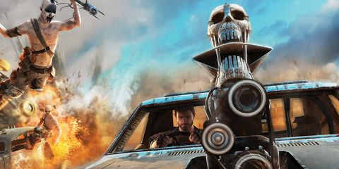 Fictional character, Machine, Film camera, Fire, Cg artwork, Movie, Personal luxury car, Video game software, Hood, Action-adventure game,