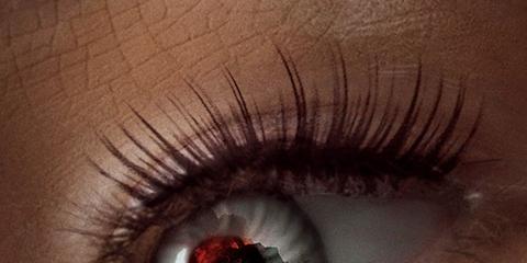Eyelash, Eye, Iris, Eyebrow, Close-up, Organ, Skin, Cosmetics, Eyelash extensions, Human body,