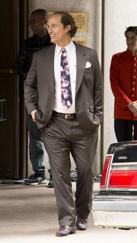 Matthew McConaughey, irreconocible en el set de 'Gold'