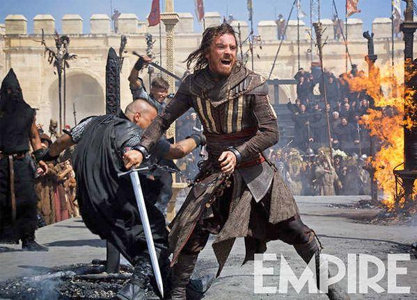 Michael Fassbender protagoniza nuevas imágenes de 'Assasin's Creed'