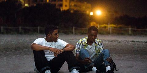 Sitting, Fun, Night, Photography, Adaptation, Street,