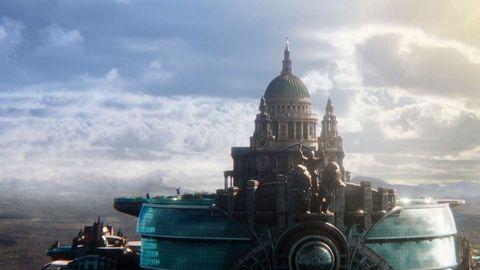 Landmark, Sky, Architecture, City, Cloud, Metropolis, Dome, Building, World, Tourist attraction,