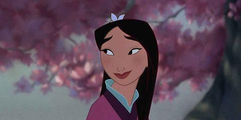 Cheek, Hairstyle, Forehead, Eyebrow, Animation, Cartoon, Animated cartoon, Pink, Fictional character, Black hair,