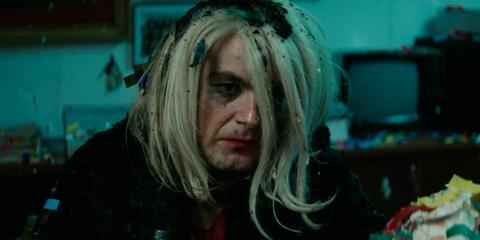 Hair, Face, Blue, Head, Eyebrow, Nose, Blond, Human, Eye, Mouth,