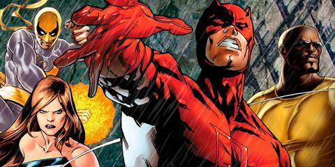 Fictional character, Red, Animation, Fiction, Cartoon, Costume, Animated cartoon, Hero, Superhero, Illustration,