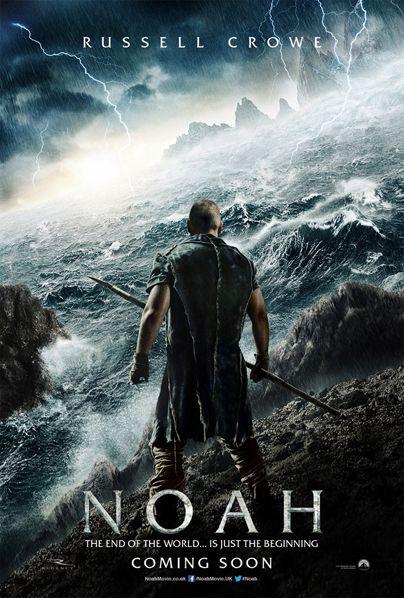 'Noé': Épico primer trailer protagonizado por Russell Crowe