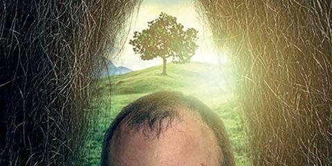 Hair, Face, Facial hair, Beard, Head, Forehead, Sky, Cool, Illustration, Chin,
