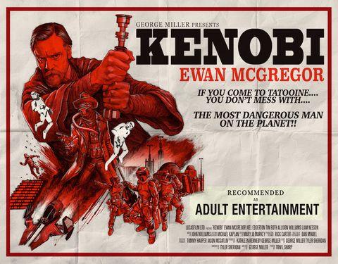 Fanmade poster Obi Wan Kenobi