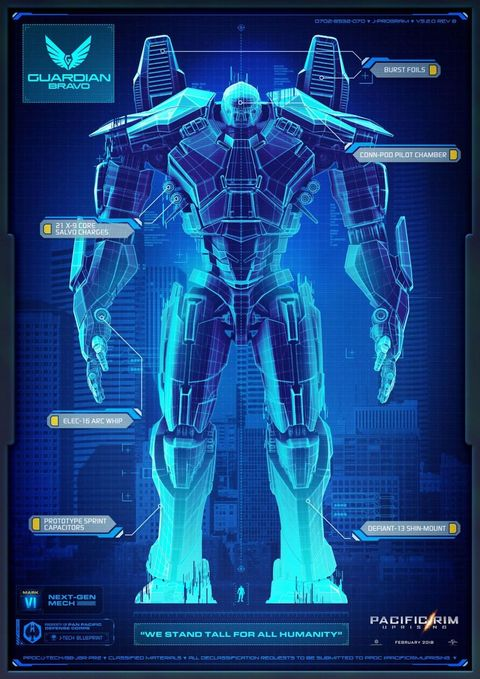 Joint, Technology, Electric blue, Machine, Fictional character, Robot, Symmetry, Poster, Animation, Graphic design,