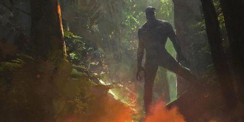 Sunlight, Fictional character, Digital compositing, Forest, Cg artwork, Art, Screenshot,