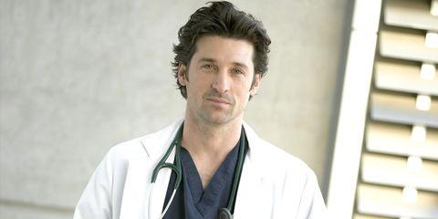 Collar, Sleeve, White coat, Dress shirt, Jaw, Uniform, Physician, Facial hair, Service, Stethoscope,