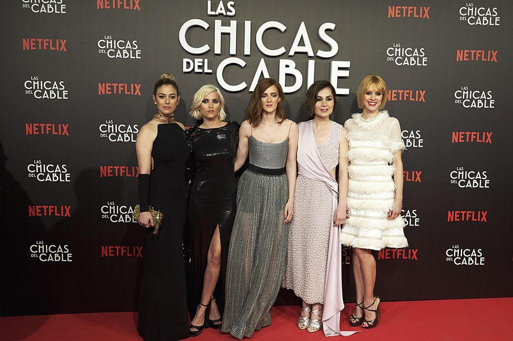 Premiere En Madrid De Las Chicas Del Cable