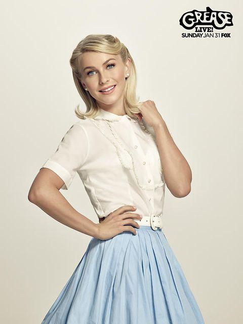 Sleeve, Shoulder, Style, Logo, Fashion, Neck, Beauty, Blond, Long hair, Eyelash,