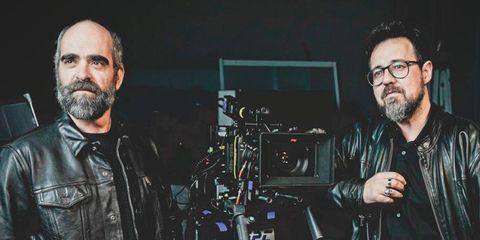 Cinematographer, Camera operator, Facial hair, Photography, Filmmaking, Beard, Jacket, Leather,