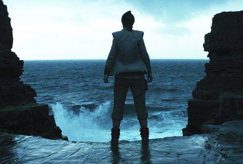 Water, Sky, Sea, Blue, Ocean, Horizon, Rock, Standing, Coast, Cliff,