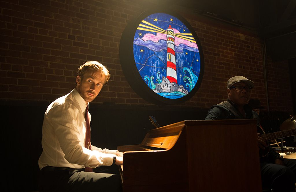 'La La Land': Ryan Gosling detrás de las cámaras