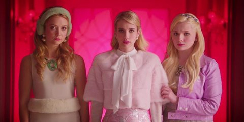 Head, Pink, Waist, Fashion, Trunk, Abdomen, Blond, Hair accessory, Brown hair, Chest,