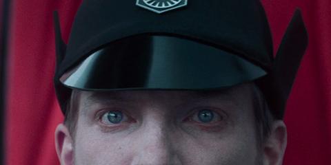 Face, Head, Headgear, Uniform, Cap, Smile, Personal protective equipment, Official, Hat,