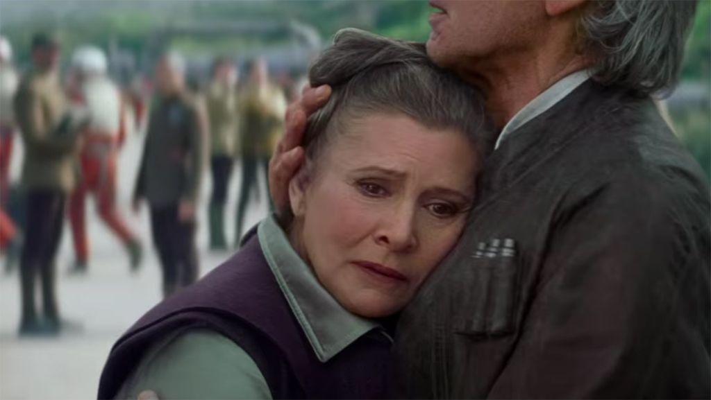 'Star Wars': Carrie Fisher, harta de que su vejez sea objeto de debate
