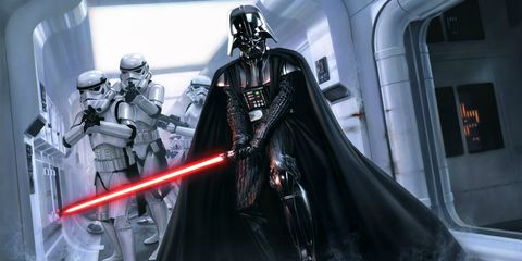 Darth vader, Fictional character, Supervillain, Armour, Fiction, Costume, Cloak, Cape, Knight, Mantle,