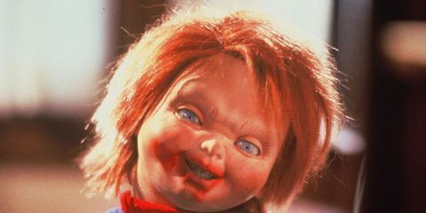 Face, Hair, Facial expression, Child, Red, Head, Nose, Cheek, Smile, Chin,