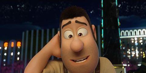 Animated cartoon, Head, Animation, Nose, Cartoon, Fun, Cheek, Smile, Mouth, Media,