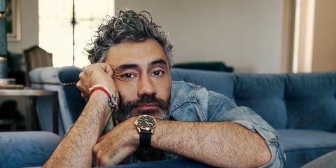 Hair, Facial hair, Beard, Forehead, Moustache, Human, Sitting, Photography,