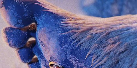 Blue, Electric blue, Photography, Fictional character, Tail,