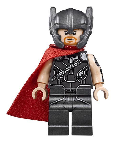 Toy, Lego, Fictional character, Superhero, Thor, Batman, Outerwear, Action figure, Hero, Figurine,