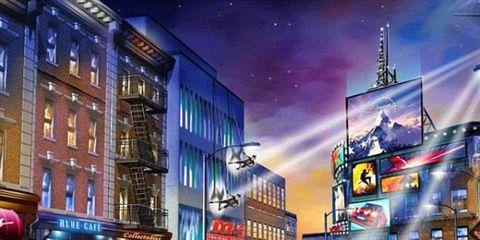 Town, Mode of transport, Vehicle, Street, Metropolitan area, Car, City, Building, Cityscape, Metropolis,
