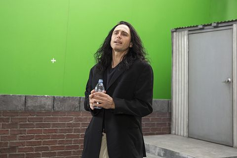 Green, Snapshot, Standing, Photography, Outerwear, Room, Long hair,