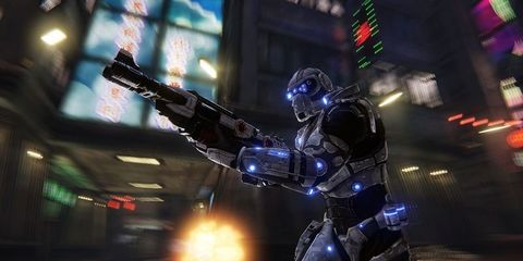 Shooter game, Light, Fictional character, Pc game, Action-adventure game, Armour, Games, Helmet, Video game software, Adventure game,