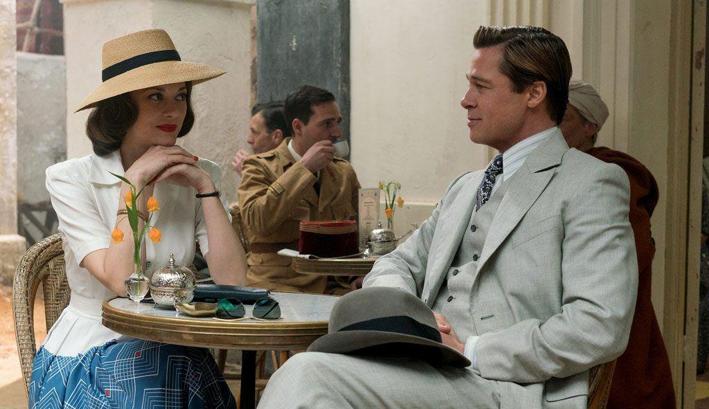 Tráiler De Aliados Con Brad Pitt Y Marion Cotillard