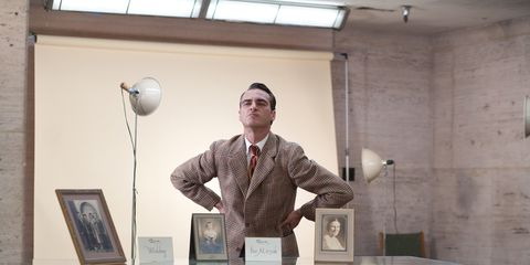 Lighting, Dress shirt, Ceiling, Suit, Tie, Picture frame, Collection, Light fixture, White-collar worker, Publication,
