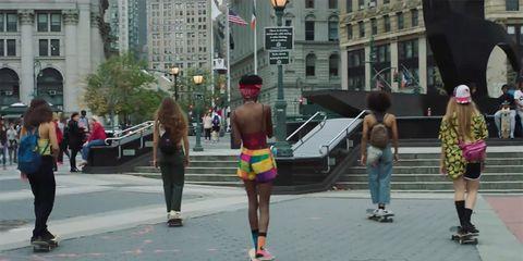Pedestrian, Footwear, Street, Recreation, Road, Running, Downtown, City,