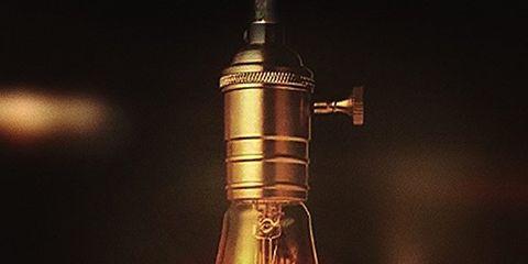 Light bulb, Lighting, Incandescent light bulb, Light, Light fixture, Lamp, Ceiling, Glass, Lighting accessory, Brass,