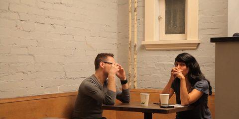 Conversation, Interaction, Sitting, Fun, Table,