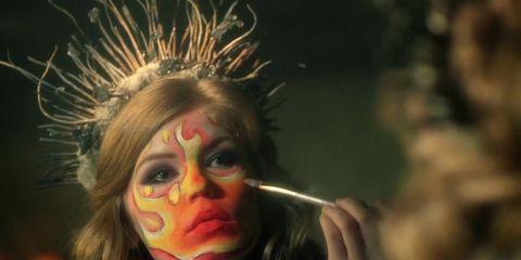 Eyelash, Artificial hair integrations, Eye shadow,