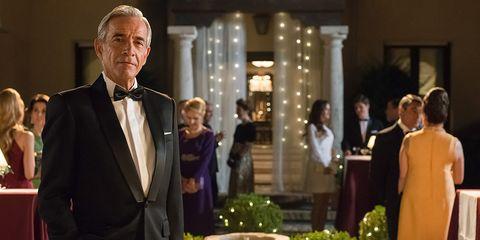 Event, Suit, Formal wear, Tuxedo, Pope, Speech,
