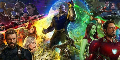 Fictional character, Collage, Art, Games, Organism, Hero, Movie, Illustration, Graphic design, Superhero,