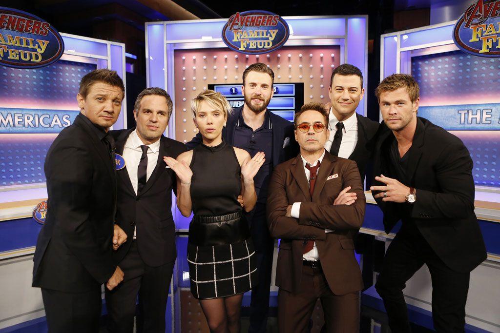 'Vengadores: La era de Ultrón': Los superhéroes pasan las pruebas de Jimmy Kimmel