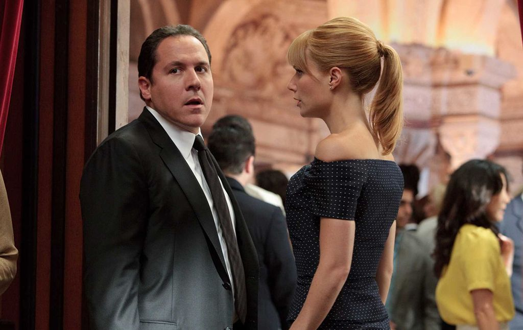 'Vengadores: La guerra del infinito': Jon Favreau y Gwyneth Paltrow estarán en la película