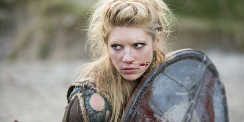 La Historia Real de Lagertha - Vikingos 6 Muerte Lagertha