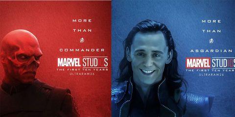 Los Villanos De Marvel También Tienen Su Póster Fan Por El 10º