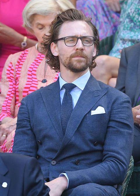 Facial hair, Beard, Glasses, Human, Event, Suit, Outerwear, Moustache, Tie,