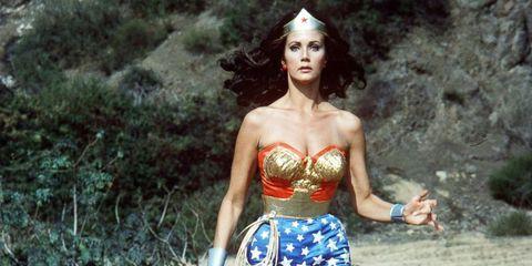 Clothing, Wonder Woman, Fictional character, Justice league, Waist, Superhero, Abdomen, Photography, Fashion model, Trunk,