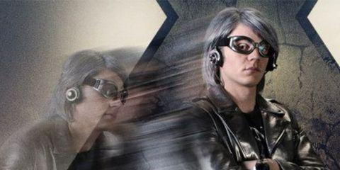 Eyewear, Vision care, Jacket, Leather jacket, Leather, Sunglasses, Fictional character, Movie, Animation, Painting,