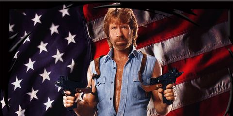Denim, Dress shirt, Fictional character, Star, Flag of the united states, Belt, Shooter game, Animation, Pocket, Gunfighter,