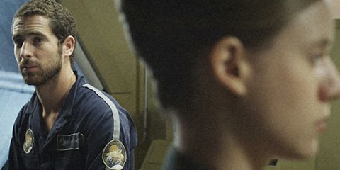 Ear, Hairstyle, Chin, Forehead, Collar, Black hair, Military person, Beard, Law enforcement, Medal,