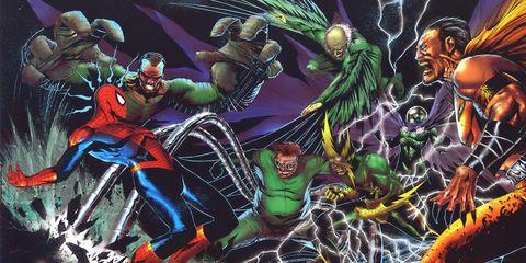 Fictional character, Art, Animation, Hero, Cartoon, Superhero, Fiction, Cg artwork, Illustration, Animated cartoon,